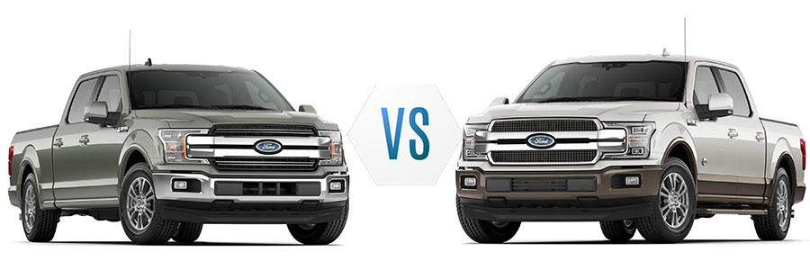 2020 Ford F 150 Lariat Vs King Ranch Lafayette Ford