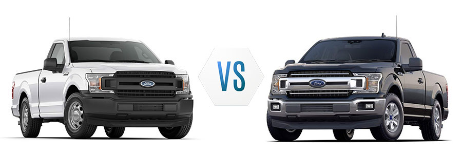 2020 Ford F-150 XL vs XLT