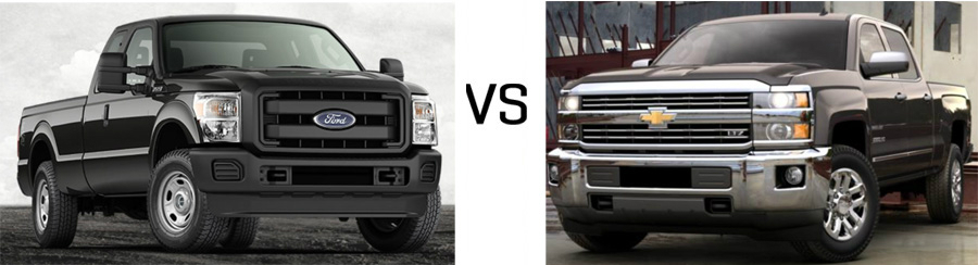 2015 f 250 vs chevrolet silverado 2500hd. Black Bedroom Furniture Sets. Home Design Ideas
