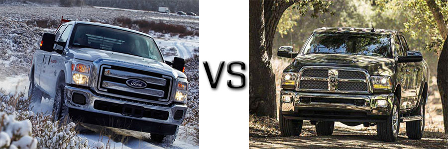 2016 Super Duty vs Silverado 2500