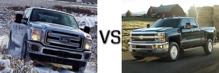 2016 F-250 Diesel vs Chevrolet 2500 Diesel