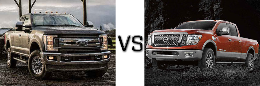 2017 ford f 250 diesel vs nissan titan xd diesel. Black Bedroom Furniture Sets. Home Design Ideas