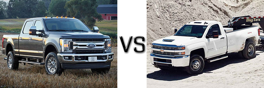 2017 Ford F-350 vs Chevrolet Silverado 3500
