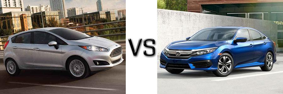 2017 Ford Fiesta vs 2017 Honda Civic