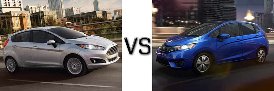 2017 Ford Fiesta Vs Honda Fit