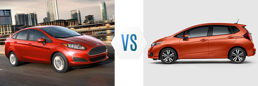 Superior 2018 Ford Fiesta Vs Honda Fit