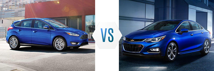 2018 Ford Focus vs Chevrolet Cruze