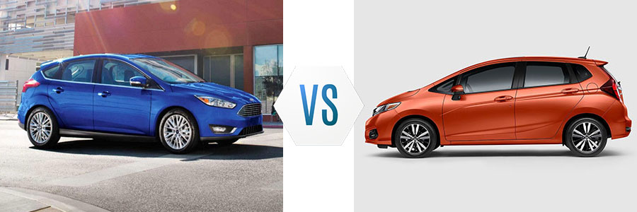 2018 Ford Focus vs Honda Fit