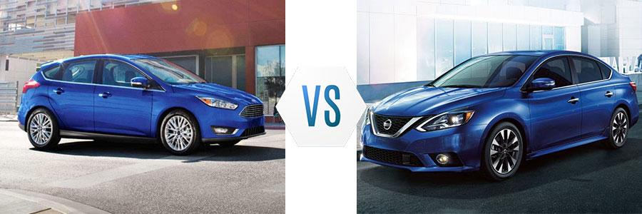 2018 Ford Focus vs Nissan Sentra