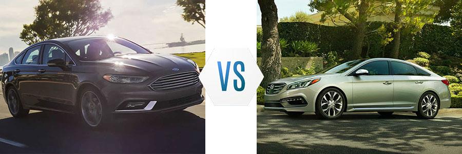 Good 2017 Ford Fusion Vs Hyundai Sonata