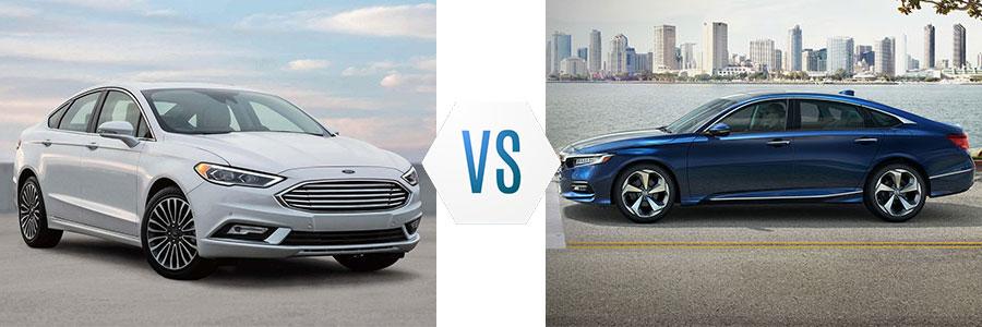 2018 Ford Fusion vs Honda Accord