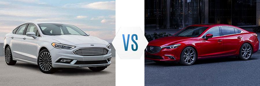 Wonderful 2018 Ford Fusion Vs Mazda 6