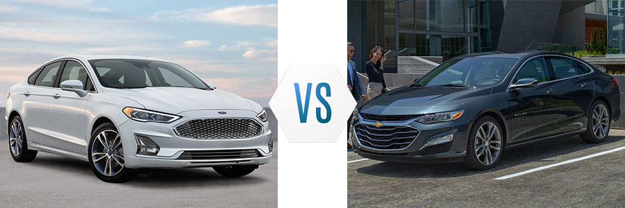 2019 Ford Fusion vs Chevrolet Malibu