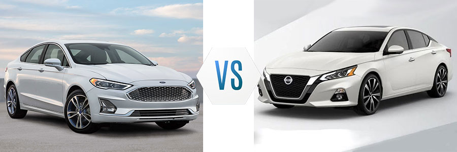 2019 Ford Fusion vs Nissan Altima