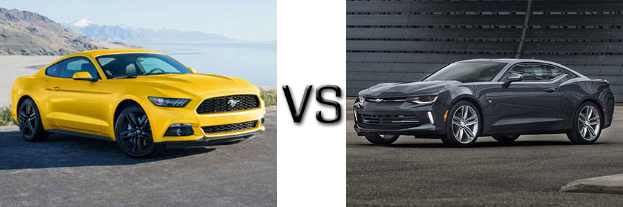 2017 Ford Mustang Vs Chevrolet Camaro