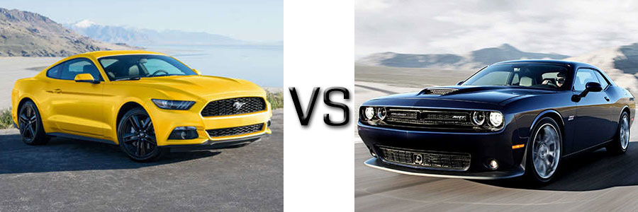 2017 Ford Mustang vs Dodge Challenger