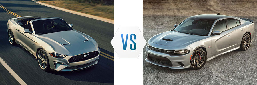 2018 Ford Mustang vs Dodge Charger