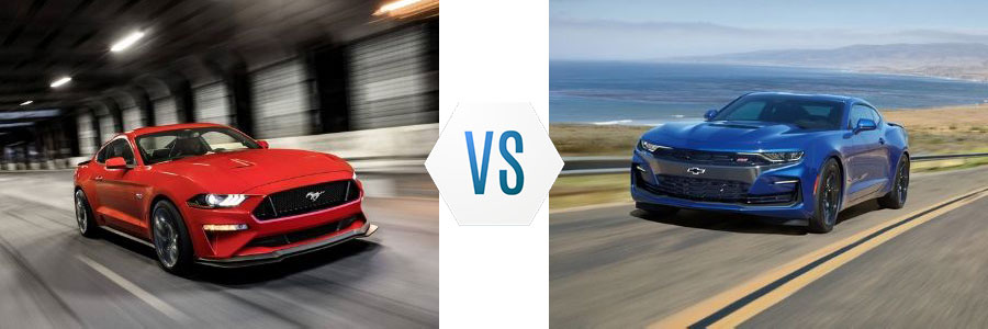 2019 Ford Mustang vs Chevrolet Camaro