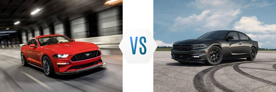 2019 Ford Mustang vs Dodge Charger