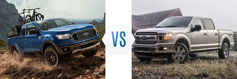 Compare New Ford Trucks