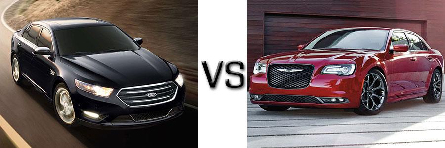 2017 Ford Taurus vs Chrysler 300