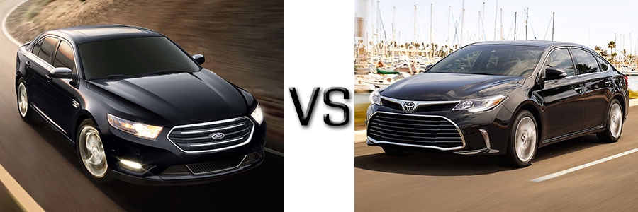 2017 Ford Taurus vs Toyota Avalon