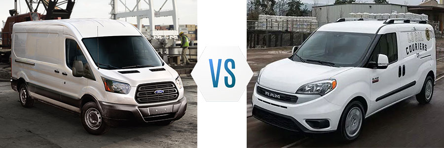 2019 Ford Transit Connect vs Ram Promaster City