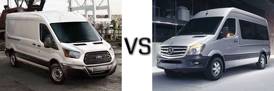 2017 Ford Transit vs Nissan NV