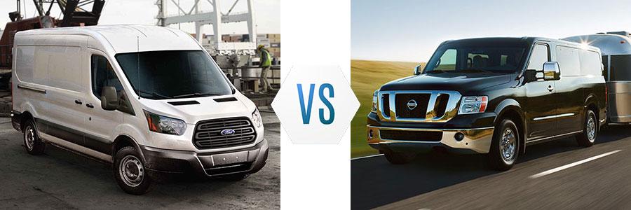 2017 Ford Transit vs GMC Savana
