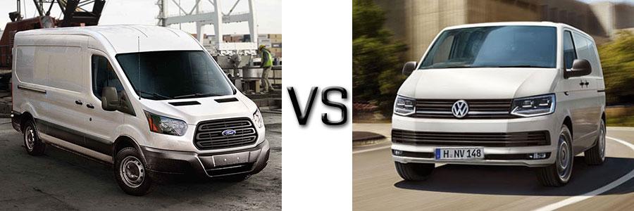 2017 Ford Transit vs Volkswagen Transporter