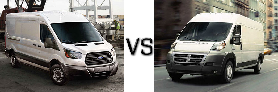 2017 Ford Transit vs Ram Promaster
