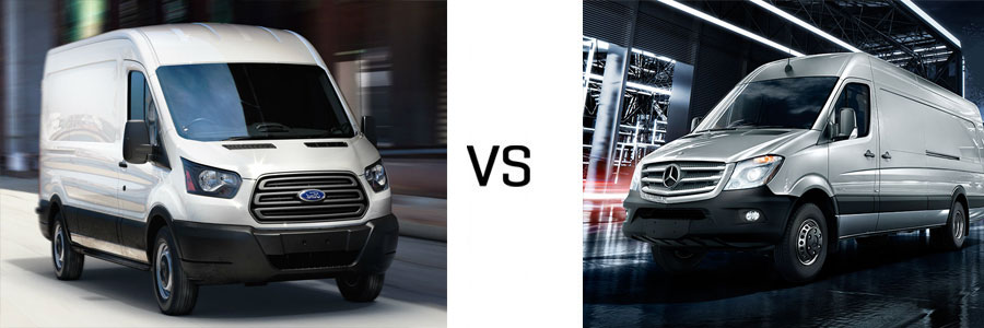 2015 transit van vs mercedes benz sprinter cargo van. Black Bedroom Furniture Sets. Home Design Ideas