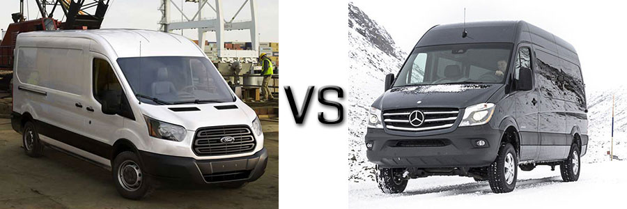mercedes vs ford Looking for a cargo van see how the 2017 mercedes-benz sprinter compares  with the ford transit in our handy guide, and then visit vin devers today.