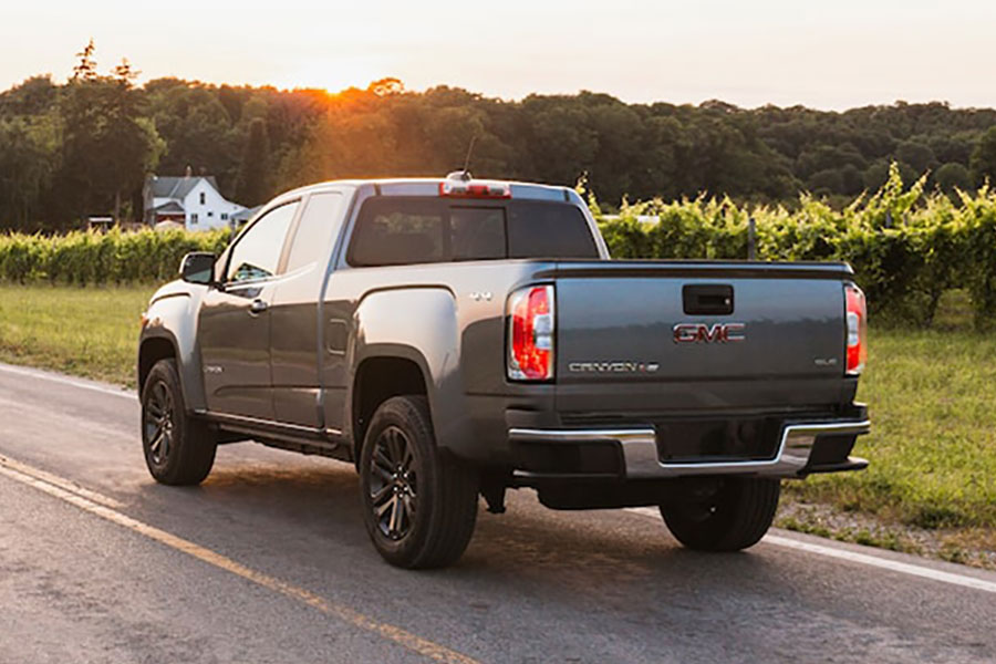 2020 GMC Canyon on the Road