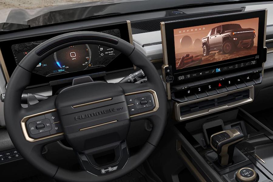 2022 GMC Hummer EV Technology