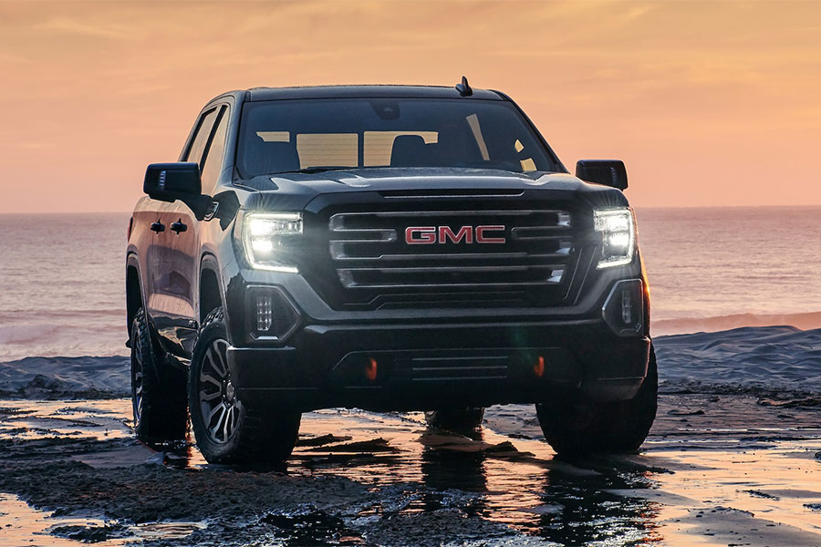 2019 GMC Sierra 1500 on the Road