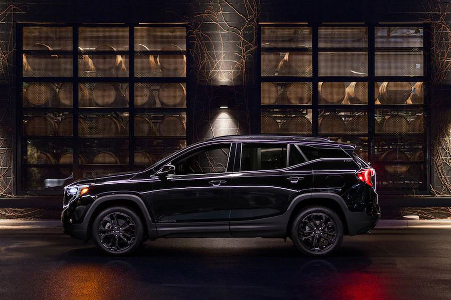 2019 GMC Terrain on the Road