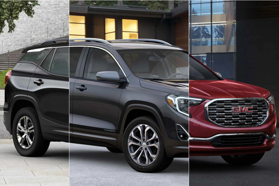 2021 GMC Terrain Trims