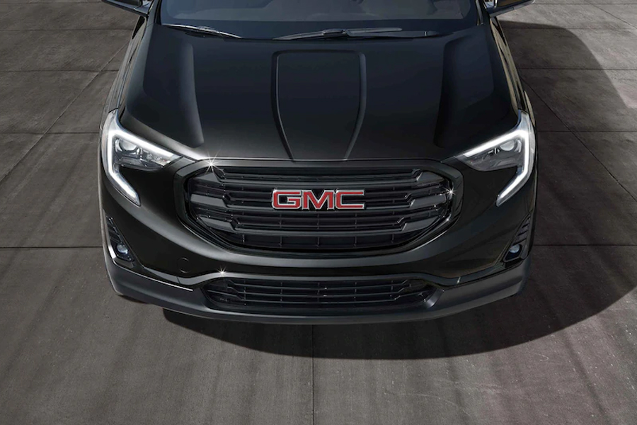 2021 GMC Terrain on the Road