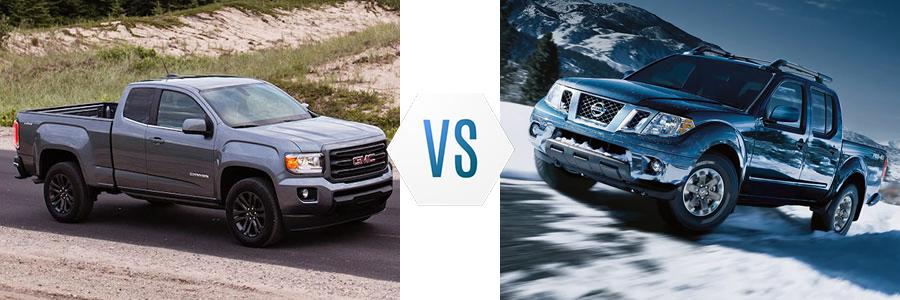 2020 GMC Canyon vs Nissan Frontier