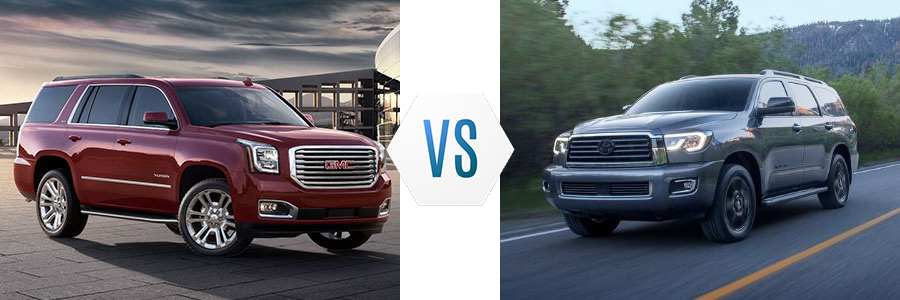 2020 GMC Yukon vs. Toyota Sequoia