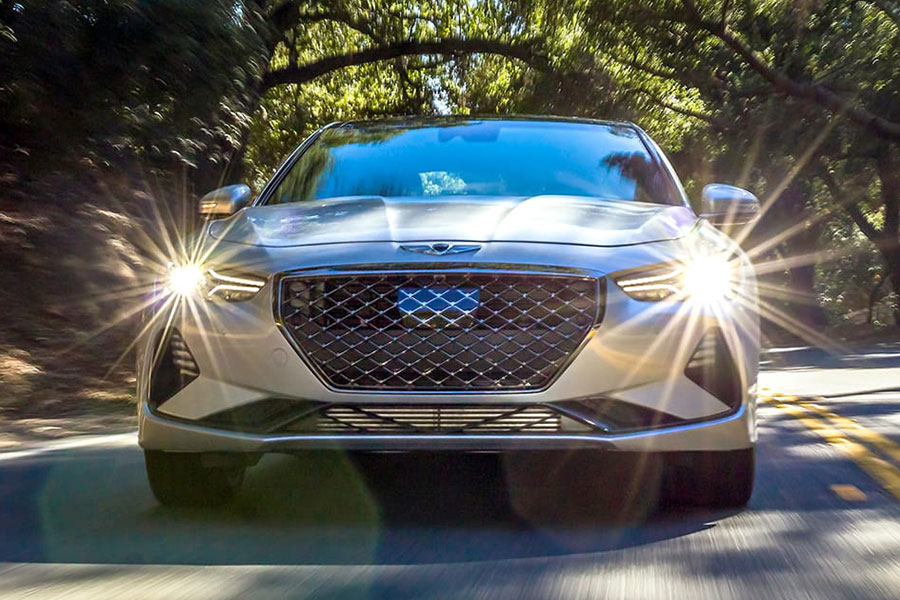 2019 Genesis G70 on the Road