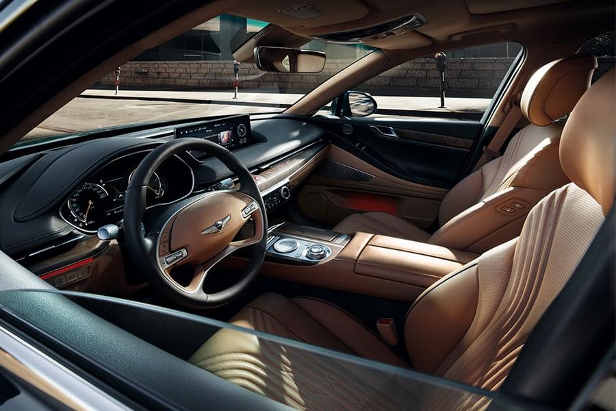 New Genesis G80 Interior