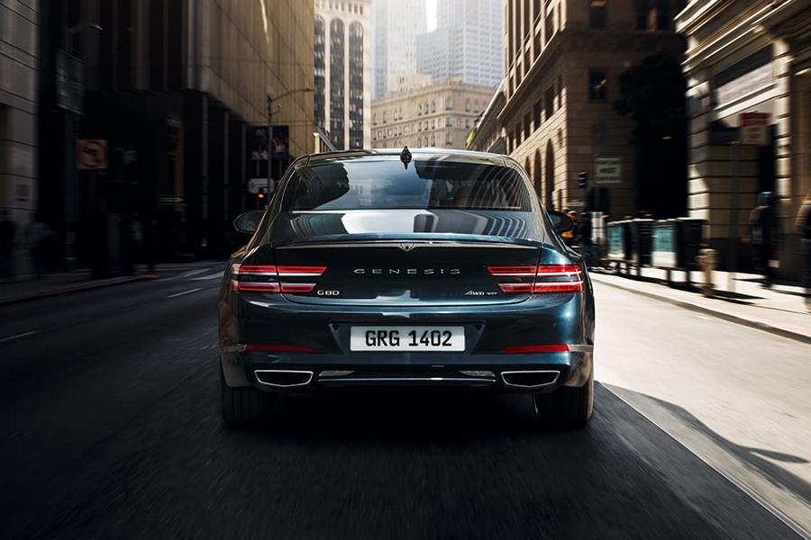 2021 Genesis G80 on the Road