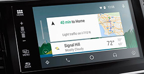 2016 Honda Accord Sedan Satellite Navigation