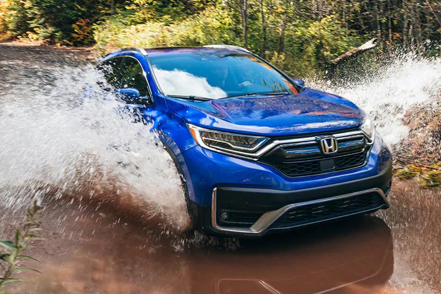2021 Honda CR-V Off Roading
