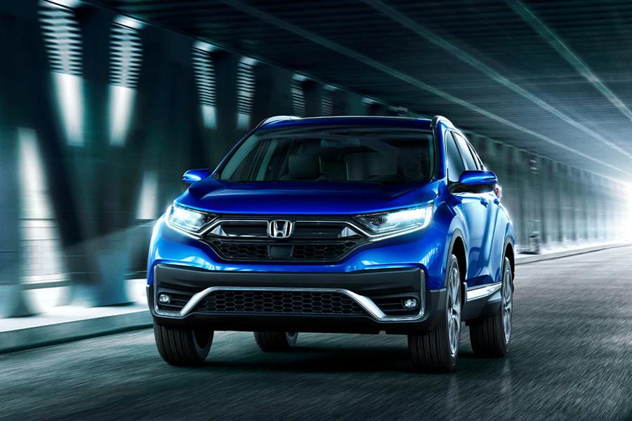 2021 Honda CR-V on the Road