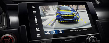 2016 Honda Civic Multi-Angle Rearview Camera