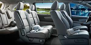 2016 Honda Odyssey Eight-Passenger Seating