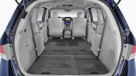 2017 Honda Odyssey Flexible Storage Space